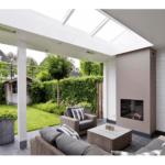 Harcosun Low Glare terrasheater plafond inbouw klassieke veranda 2