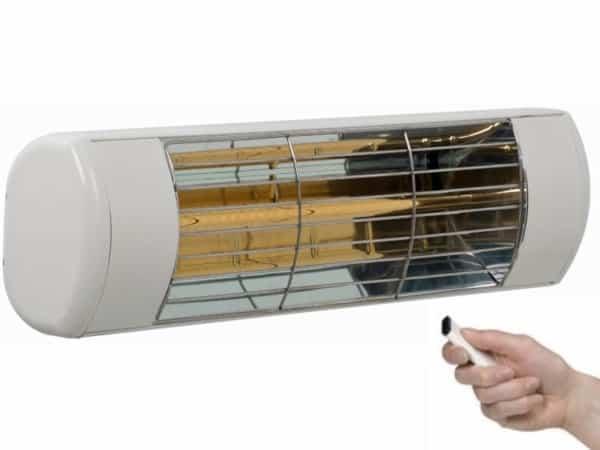 Terrasverwarming Harcosun Ultra Low Glare met afstandsbediening
