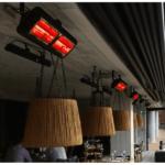 Tansun Monaco Ultra Low Glare terrasheater Double 3kW Sfeer