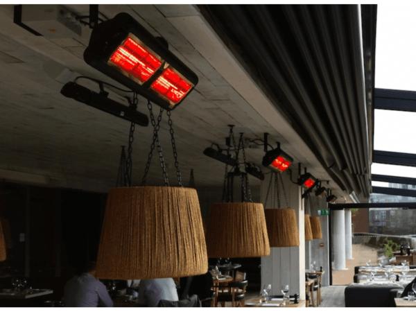 Tansun Monaco Ultra Low Glare terrasheater