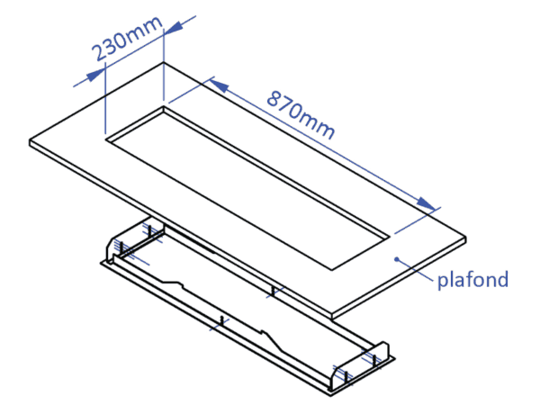 bromic-platinum_2300_afmetingen-inbouwframe