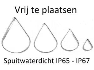 Spuitwaterdicht IP65- IP67