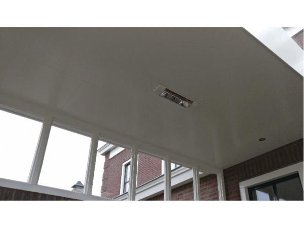 Harcosun terrasverwarmer uit plafondinbouw