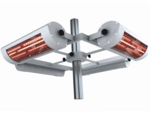 Solamagic 1400ECO+ Parasol montage