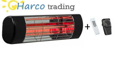 terrasverwarming met afstandsbediening