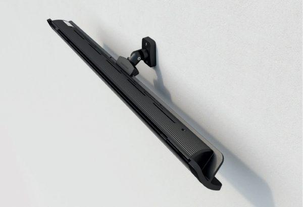 heatscope PURE Black wandmontage heater