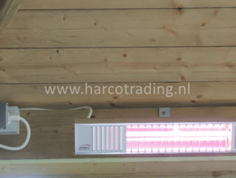 Burda Term 2000 IP44 terrasverwarming Harco Trading