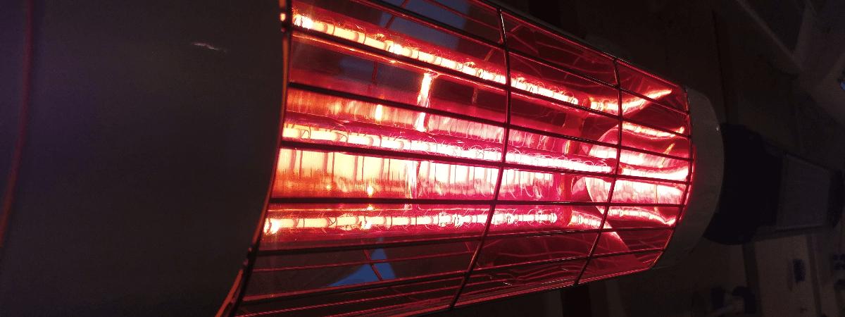 Harcosun Ultra Low Glare terrasverwarmer