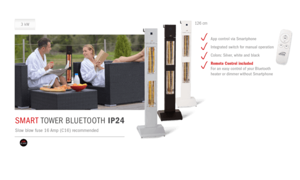 Burda Smart Tower IP24 BT Sfeer