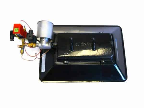 Alke 101 EID2G gasheater met elektrische onsteking achterzijde