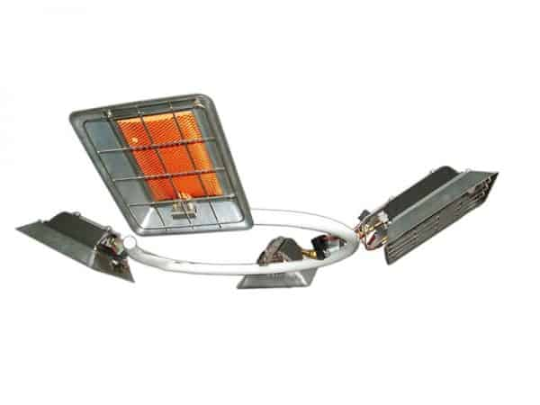 Alke PH8 Parasolheater op gas