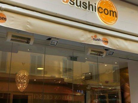 Solamagic ECO Low Glare terrasverwarming elektrisch sushi.com