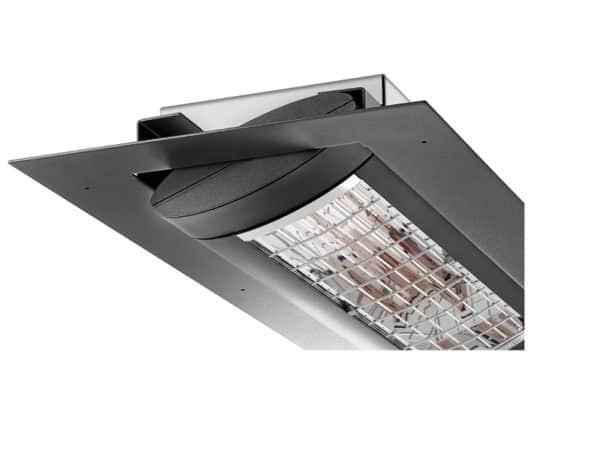 Solamagic S3 2500 plafond inbouw nano antraciet