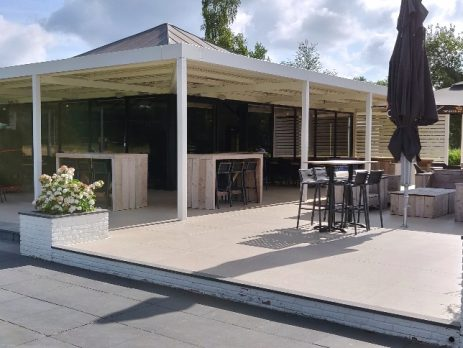 Harcosun terrasverwarming voor Golfclub Helmond