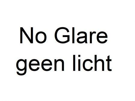 No Glare zonder licht