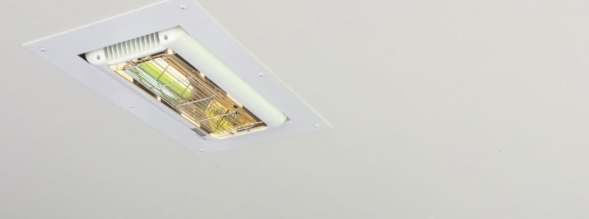 Tansun Inbouw Terrasverwarming