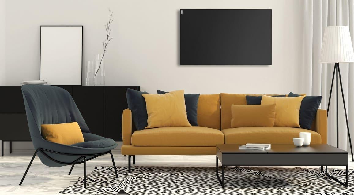 Infraroodpaneel voor wand en plafond montage